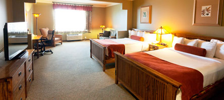 Double Bed Suites at Best Western Plus Sunset Suites Riverwalk, San Antonio